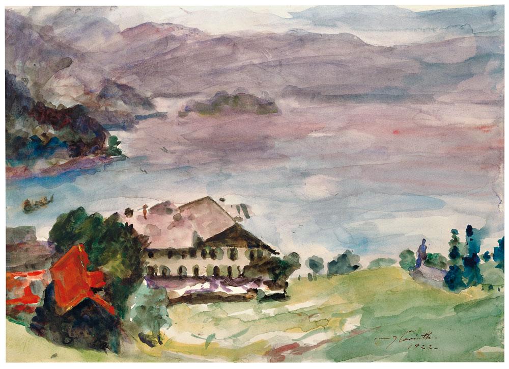 Walchenseelandschaft, 1922