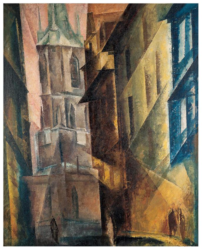 Roter Turm II, 1930