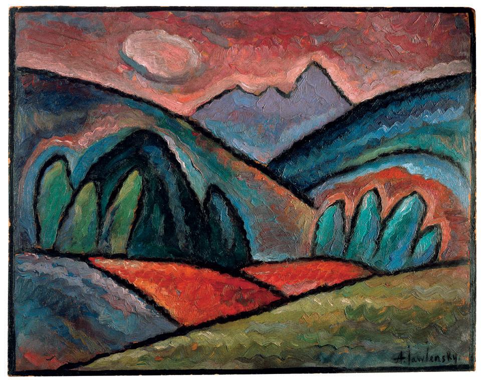Landschaft bei Oberstorf, 1912