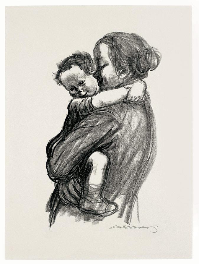 Mutter mit Jungen, 1933