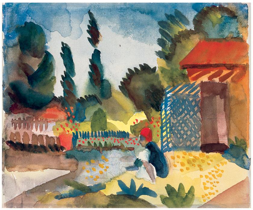 Gartenhäuschen, 1914