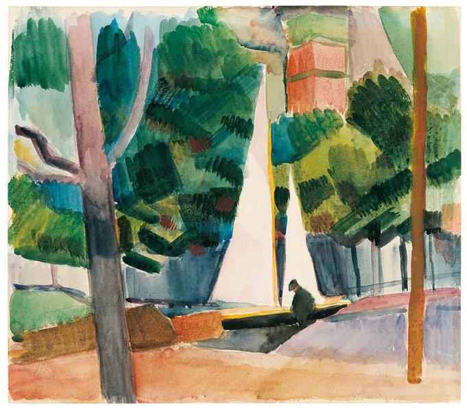 Hilterfingen am Thuner See, 1914