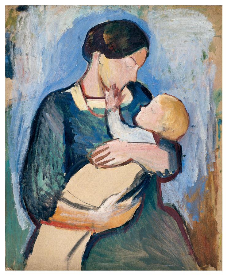 Mutter mit Kind, 1910